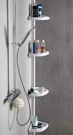 tag re d 39 angle t lescopique evolution blanche h 130 260. Black Bedroom Furniture Sets. Home Design Ideas