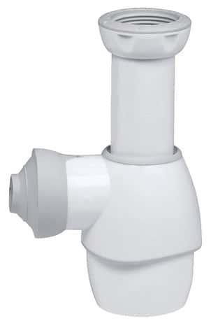 Siphon universel blanc pour lavabo lave mains bidet ou vier r glable en hauteur de 125 170 - Comment retirer un bidet ...