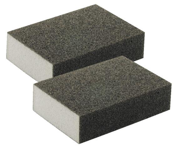lot de 2 blocs abrasifs grain carbure pour le pon age des surfaces d 39 acc s difficiles brico d p t. Black Bedroom Furniture Sets. Home Design Ideas