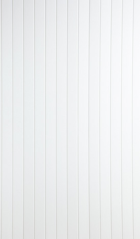lambris pvc blanc 1 frise brico d p t. Black Bedroom Furniture Sets. Home Design Ideas