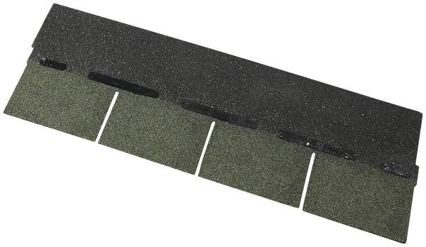 bardeau en bitume thermocollant vert sapin par paquet de 3 m2 l 1 m l 34 cm ep 3 3 mm brico. Black Bedroom Furniture Sets. Home Design Ideas