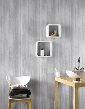 lambris pvc 3 frises brico d p t. Black Bedroom Furniture Sets. Home Design Ideas