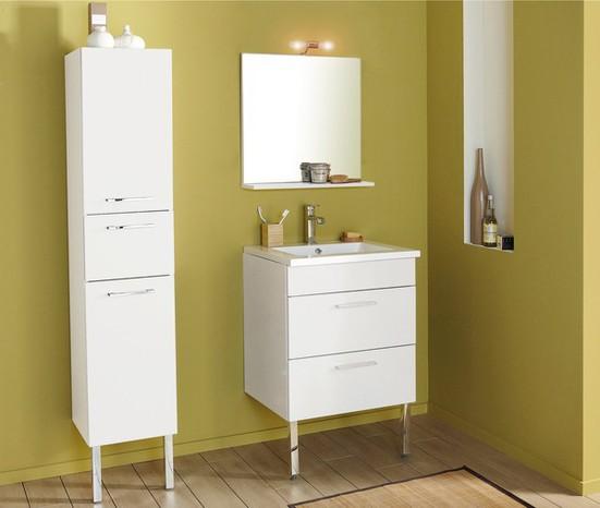Meuble salle de bain brico depot for Brico leclerc meuble salle de bain