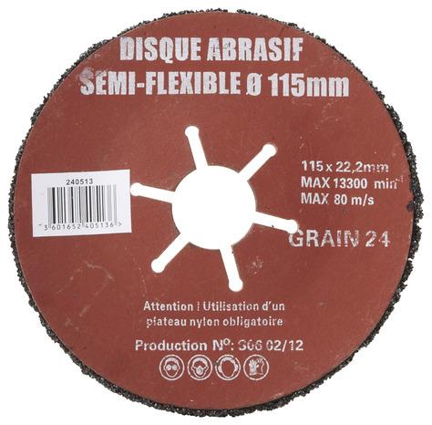disque abrasif semi flexible superflex brico d p t. Black Bedroom Furniture Sets. Home Design Ideas