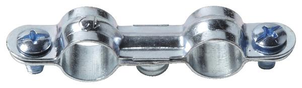 collier de fixation double pour tube cuivre 12 mm brico d p t. Black Bedroom Furniture Sets. Home Design Ideas