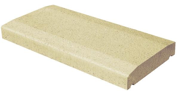 couvre mur en b ton ton sable 1 pan x x p 5 cm brico d p t. Black Bedroom Furniture Sets. Home Design Ideas