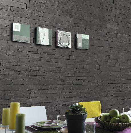 plaquette de parement goya grey pour murs int rieurs ep de 20 30 mm brico d p t. Black Bedroom Furniture Sets. Home Design Ideas