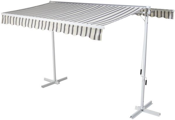 store banne double pente manuel l 3 x l 3 m brico d p t. Black Bedroom Furniture Sets. Home Design Ideas