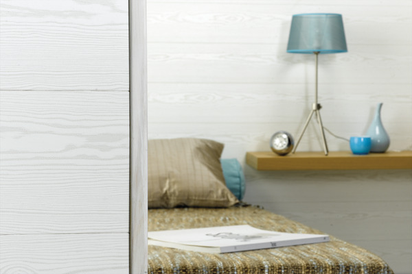 lambris pvc lames courtes brico d p t. Black Bedroom Furniture Sets. Home Design Ideas