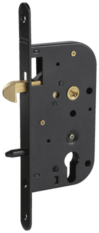 serrure crochet encastrer axe 50 mm r versible carr 7 mm brico d p t. Black Bedroom Furniture Sets. Home Design Ideas