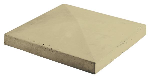 chapeau pour pilier en b ton moul ton sable x. Black Bedroom Furniture Sets. Home Design Ideas