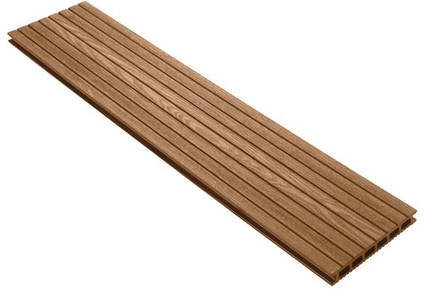 lame de terrasse composite noisette l 3 m x l 14 5 cm x p 21 mm brico d p t. Black Bedroom Furniture Sets. Home Design Ideas