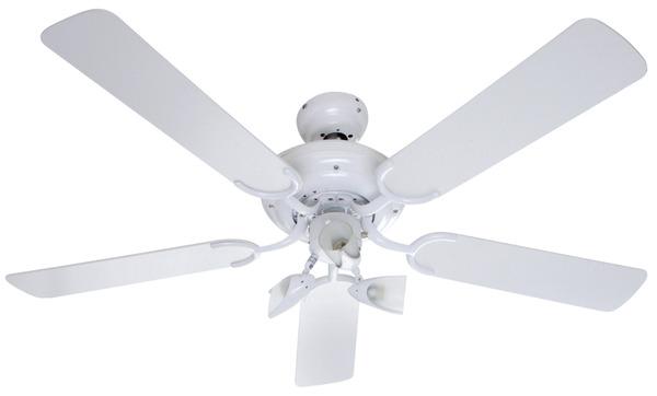 Ventilateur De Plafond Blanc D Cm V Brico Dpt With Plafonnier Ventilateur Pas Cher