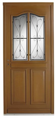porte d 39 entr e bois droite brico d p t. Black Bedroom Furniture Sets. Home Design Ideas