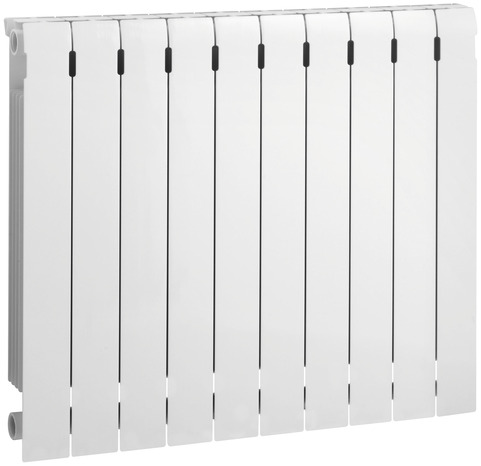 radiateur chauffage central en aluminium h 60 l 80 p 9 5 cm 1480 w brico d p t. Black Bedroom Furniture Sets. Home Design Ideas