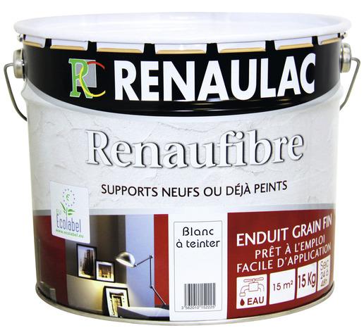 Enduit murs int rieurs grain fin l 39 ancienne blanc 15 kg for Enduit ou crepi interieur decoratif