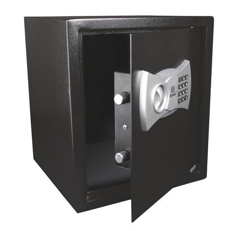 coffre fort lectronique 39 litres brico d p t. Black Bedroom Furniture Sets. Home Design Ideas