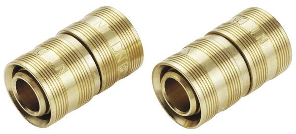 jonctions à glissement en laiton pour tube per Ø 16 mm - noyon et