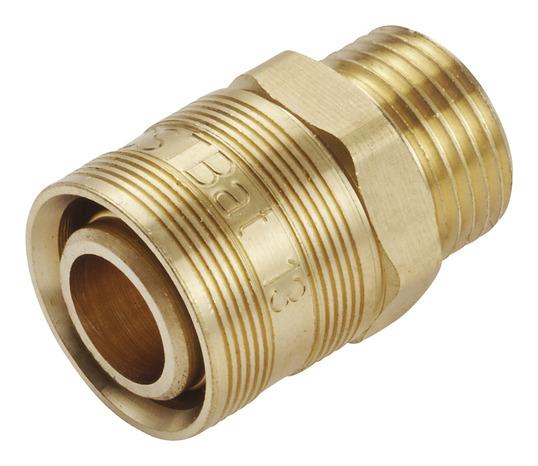 raccords avec bague à glissement pour tube per Ø 16 mm à visser