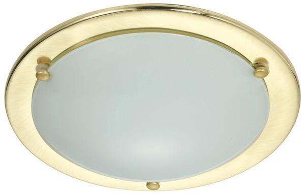 plafonnier klara metal dore 60w e27 plafonnier dor brico d p t. Black Bedroom Furniture Sets. Home Design Ideas