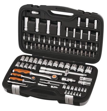 Coffret douilles 94 pi ces brico d p t - Malette outils magnusson ...