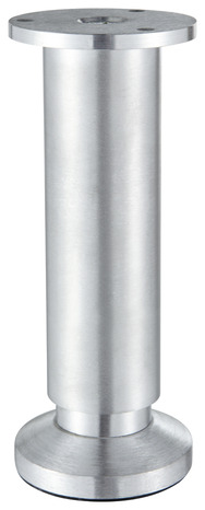 Pied alu aspect inox pour caisson 38 mm h 100 mm r glable brico d p t - Pied de lit brico depot ...