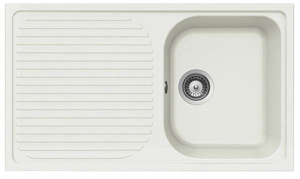 vier granit karnac blanc 1 cuve brico d p t. Black Bedroom Furniture Sets. Home Design Ideas