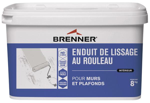 Enduit De Lissage Murs Et Plafonds, 8 Kg   BRENNER   Brico Dépôt Grandes Images
