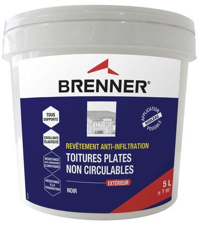 Revetement D Etancheite Pour Toitures Et Terrasses 5 L Noir Brico Depot