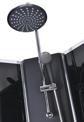 cabine de douche wet and dry black