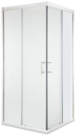 acc s d 39 angle droit kroma verre transparent h 195 cm l 80 cm moretti brico d p t. Black Bedroom Furniture Sets. Home Design Ideas