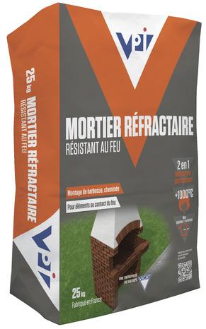 Mortier Refractaire Sac De 25 Kg Brico Depot