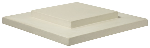 chapeau pour pilier en b ton gris x x h 9 8. Black Bedroom Furniture Sets. Home Design Ideas