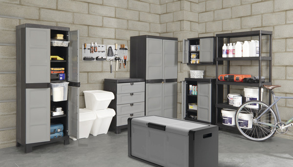 coffre de rangement 300 l 118x55x49 cm brico d p t. Black Bedroom Furniture Sets. Home Design Ideas
