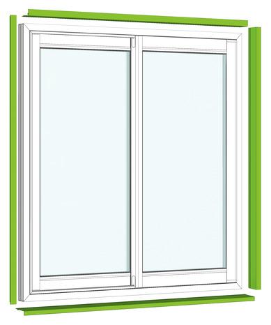 kit habillage blanc en aluminium pour baie coulissante 210x180 cm brico d p t. Black Bedroom Furniture Sets. Home Design Ideas