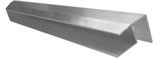 profil d 39 angle sortant aluminium l 3 m x p 19 21 mm. Black Bedroom Furniture Sets. Home Design Ideas