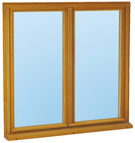 Fenêtre Bois 2 Vantaux L 100 X H 60 Cm