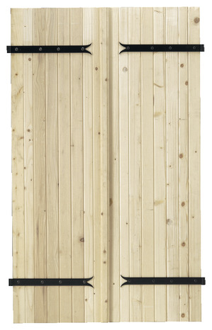 volet battant en bois de sapin du nord pic a h 75 cm. Black Bedroom Furniture Sets. Home Design Ideas