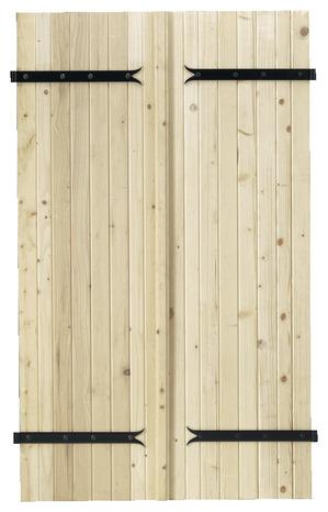 volet battant en bois de sapin du nord 233 pic 233 a h 75 cm l 60 cm ep 27 mm brico d 233 p 244 t