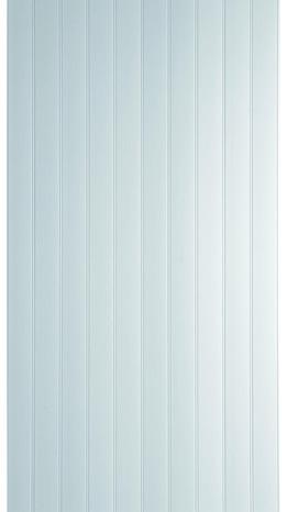 lambris pvc 1 frise blanc brillant brico d p t. Black Bedroom Furniture Sets. Home Design Ideas