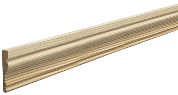 Chambranle En Sapin Long 2 40 M Section 50 X 10 Mm