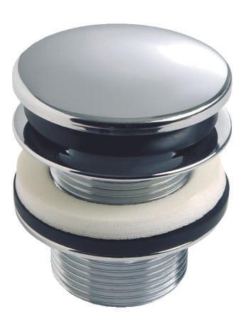 bonde quick clac en laiton chrom et trop plein 75 mm. Black Bedroom Furniture Sets. Home Design Ideas