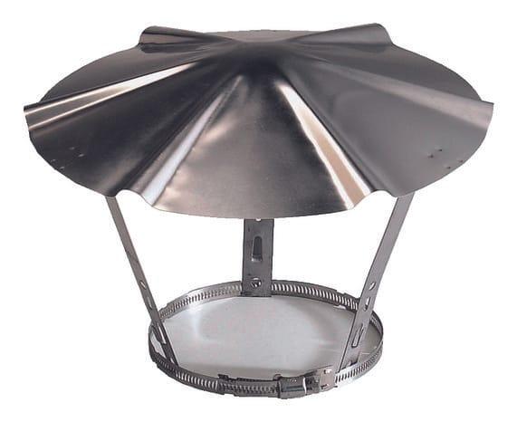 chapeau en inox 150 180 mm brico d p t. Black Bedroom Furniture Sets. Home Design Ideas