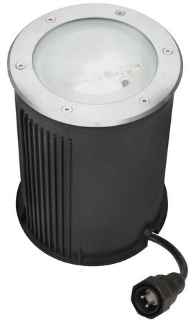 Spot enterr iodure 650 lumens brico d p t for Spot encastrable exterieur brico depot