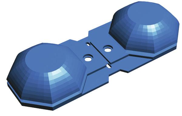 bo te de 30 connecteurs de suspentes pour assemblage des fourrures l 1110 mm brico d p t. Black Bedroom Furniture Sets. Home Design Ideas