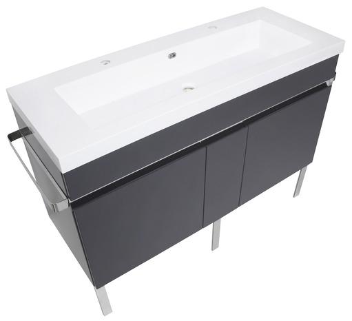 meuble new york blanc l 120 cm brico d p t. Black Bedroom Furniture Sets. Home Design Ideas