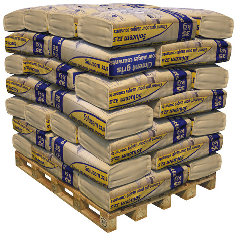 ciment tous travaux de ma onnerie cem ii cpj 32 5 sac de 35 kg brico d p t. Black Bedroom Furniture Sets. Home Design Ideas
