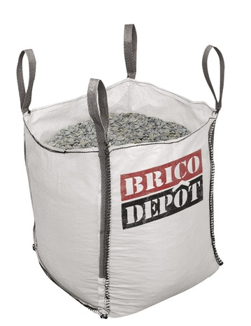 Sac Big Bag Charge Utile Maxi 500 Kg 60x60x70 Cm Brico Depot