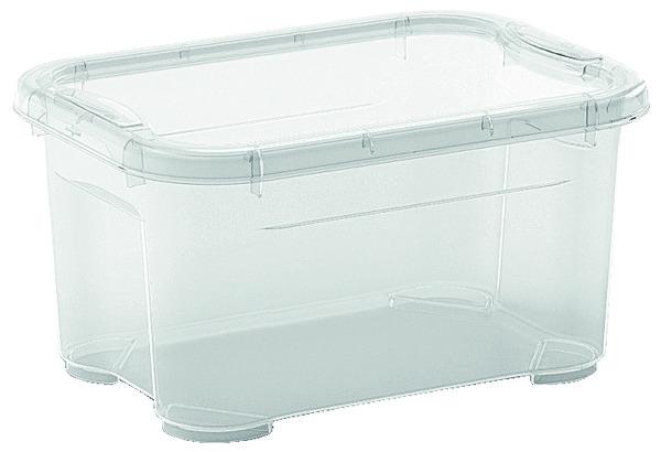 de rangement transparent 5 l 26x19x14 cm - brico dépôt