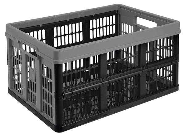 bac de rangement pliable en polypropyl ne 45 l 35x48x23 5. Black Bedroom Furniture Sets. Home Design Ideas